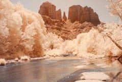 Desert River Stock Photo
