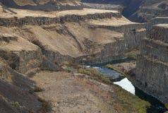 Desert River, Palouse, Washington Stock Photos