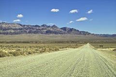 Desert road Royalty Free Stock Images