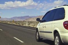 Desert road. Mohave desert road in Arizona stock images