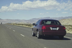 Desert road. Mohave desert road in Arizona stock photography