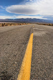 Desert Road. In death valley national park california Royalty Free Stock Photo