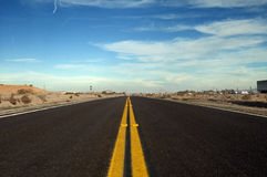 Free Desert Road Royalty Free Stock Photos - 23972048