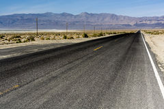 Desert road Royalty Free Stock Photo