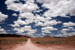 Desert Road Royalty Free Stock Images