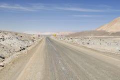 Desert road on Atacama, Chile Stock Photos
