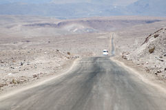 Desert road on Atacama, Chile Stock Images