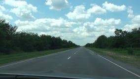 Desert Road (Car Trip) Full HD stock video
