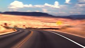 Desert Road FAST stock video