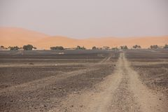 Desert Road Stock Photo