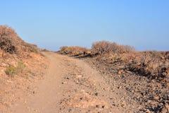 Desert Road Royalty Free Stock Image