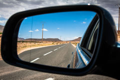 Desert road, Morocco Royalty Free Stock Photography