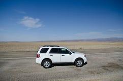Desert road trip Stock Image