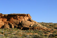 Desert Rock Royalty Free Stock Photography
