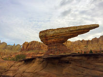 Desert Rock Formations Stock Photography