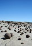 Desert Rocks. Rock formations in the desert in Argentina royalty free stock photos