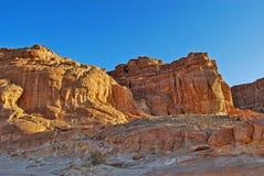 Desert rocks Stock Photos