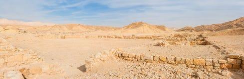 Desert ruins Stock Images