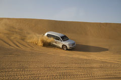 Desert safari in Dubai. Royalty Free Stock Photography
