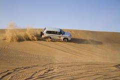 Desert safari in Dubai. Royalty Free Stock Photo