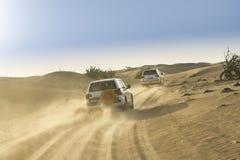 Desert safari in Dubai. Royalty Free Stock Photography