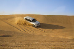 Desert safari in Dubai. Royalty Free Stock Images