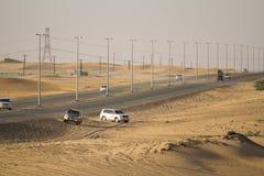 Desert safari in Dubai. Stock Photo