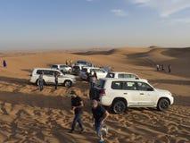 Desert safari, Dubai Royalty Free Stock Photography