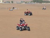 Desert safari, Dubai Royalty Free Stock Images