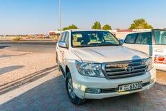 Desert Safari SUV Stock Photos