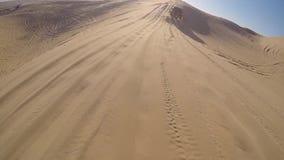 Desert safari with 4wd stock video