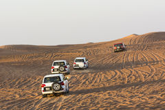 Desert safari Stock Images