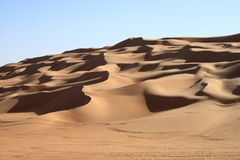 The desert of Sahara Stock Photography