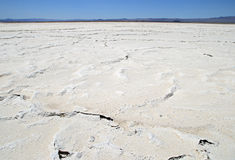 Desert salt pan Royalty Free Stock Photos