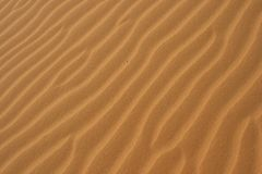 Desert Sand. A close-up of red desert sand in south Vietnam Stock Images