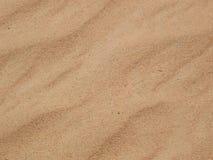 Desert sand background. Beautiful wavy desert sand texture Stock Image