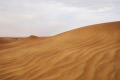 The Desert sand in Dubai Stock Photo