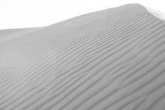 Desert Sand Dune Landscape 4. Desert Sand Dunes in the Middle East (black and white Stock Images