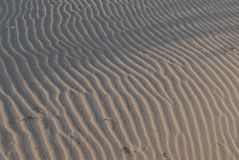 Desert Landscape Sand Dune Patterns royalty free stock photos