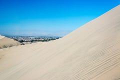 Desert Sand Dune View Stock Image