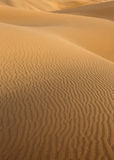 Desert sand dunes in Maspalomas Gran Canaria Royalty Free Stock Photos