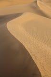 Desert sand dunes in Maspalomas Gran Canaria Stock Image
