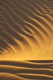 Desert sand pattern stock photo