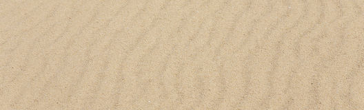 Desert sand pattern texture background from the sand in the Dune Royalty Free Stock Images
