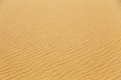 Desert sand pattern texture background from the sand in the Dune Stock Photo