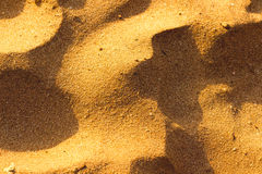 Desert sand pattern texture Stock Photography