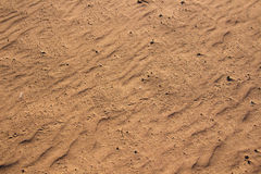 Desert sand pattern texture Royalty Free Stock Photography