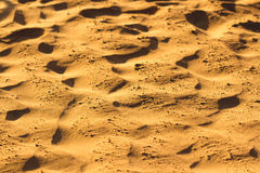 Desert sand pattern texture Royalty Free Stock Image