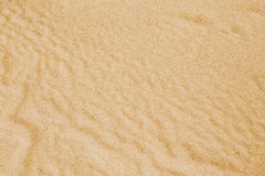 Desert sand surface top view background Stock Photos