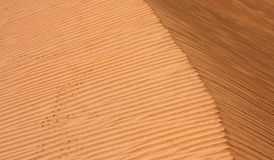 Desert sand texture Stock Image